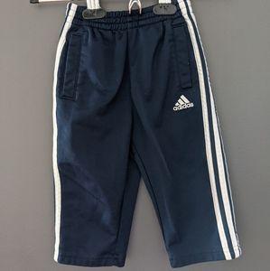 Adidas navy blue track pants